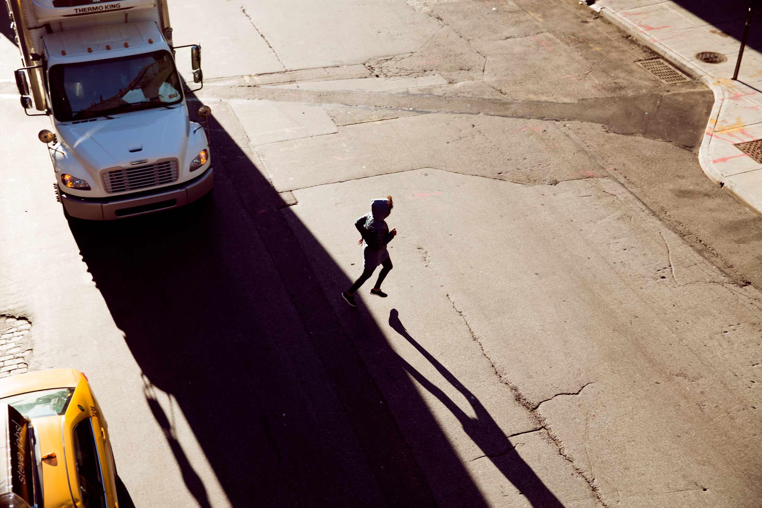 Cole Haan Grand Zero campaign, shot in New York by Katharina Poblotzki