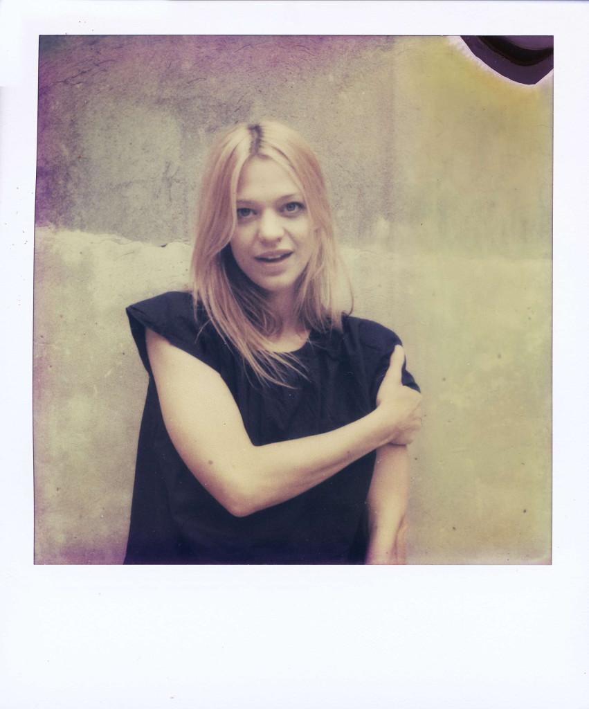 Heike Makatsch photographed by Katharina Poblotzki