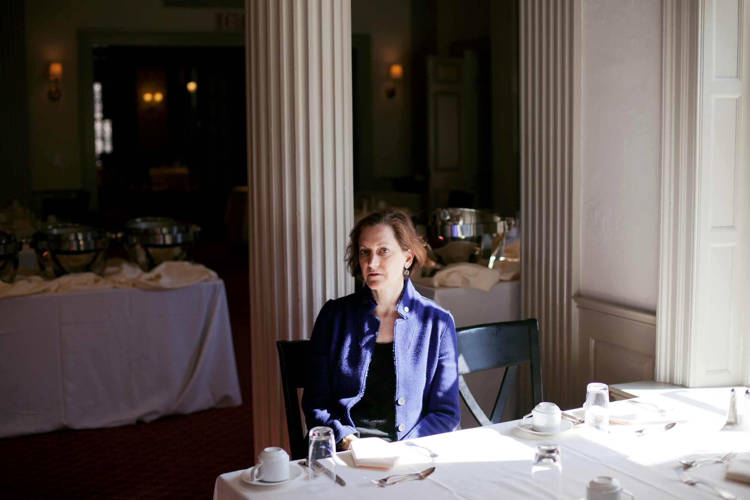 Anne Applebaum for Das Magazin, photographed by Katharina Poblotzki